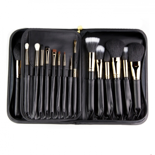 MSQ 29 Piece Natural Hair Professional Cosmetic Brush Kit