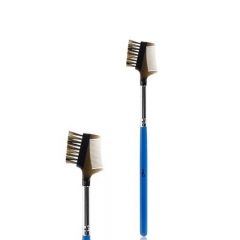 Blue Eyelash&Comb Brush