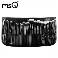 MSQ 29 Piece high quality two-tone hair makeup brush set