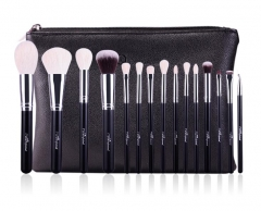 MSQ 15 Piece Goat Hair Professional Cosmetic Brush set