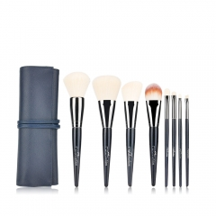 MSQ 8pcs New Style Nylon Hair Makeup Brushes Private Label Cosmetics Brushes